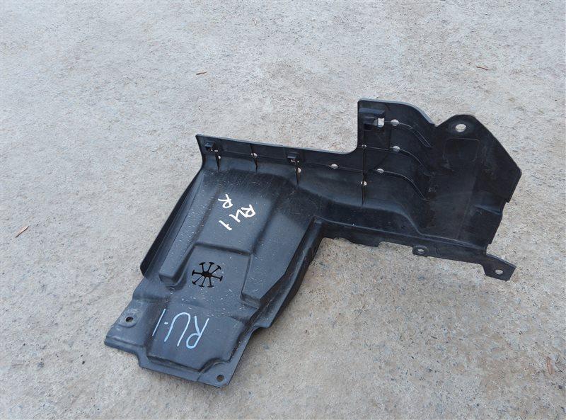 Защита двигателя Honda Vezel RU1 L15B 2018 правая (б/у)