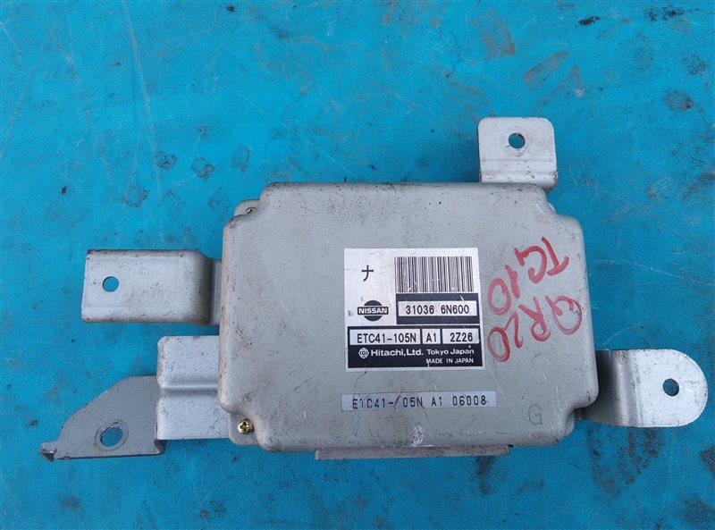 Блок переключения кпп Nissan Bluebird Sylphy TG10 QR20DE (б/у)