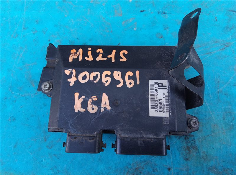 Блок efi Mazda Az-Wagon MJ21S K6A (б/у)