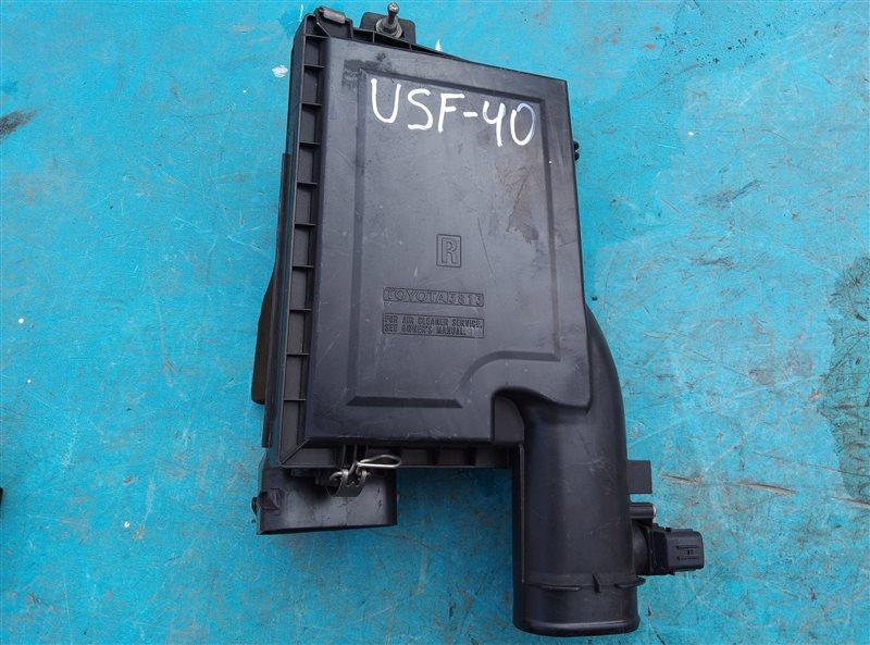 Корпус воздушного фильтра Lexus Ls460 USF40 1UR-FSE 07.2010 правый (б/у)