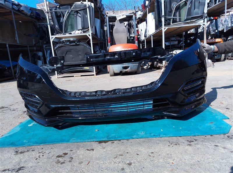 Бампер Honda Vezel RU1 L15B 2018 передний (б/у)