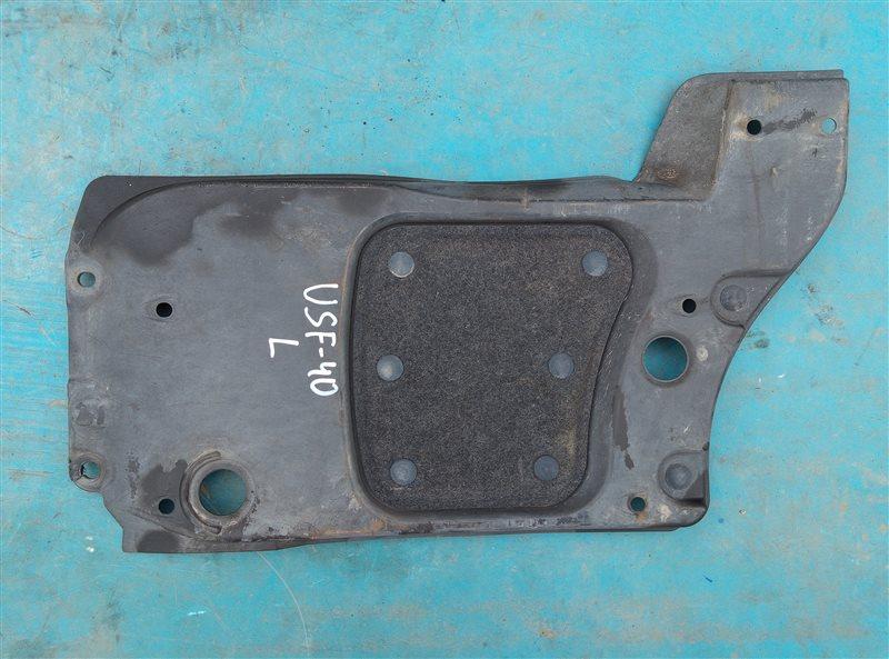 Защита Lexus Ls460 USF40 1UR-FSE 07.2010 передняя левая нижняя (б/у)