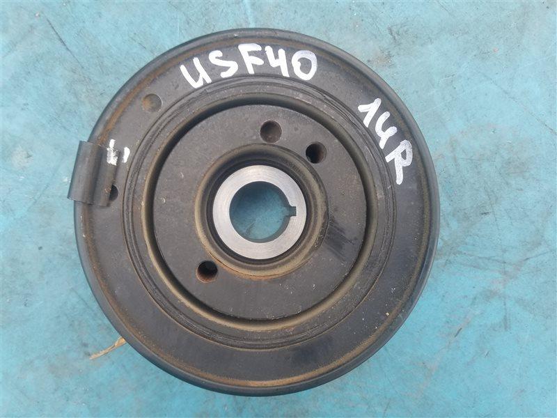 Шкив коленвала Lexus Ls460 USF40 1UR-FSE 07.2010 (б/у)