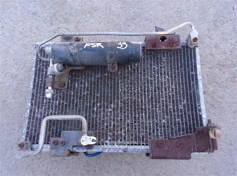 Радиатор кондиционера Isuzu Forward FSR33K4 6HH1-1 1998 (б/у)