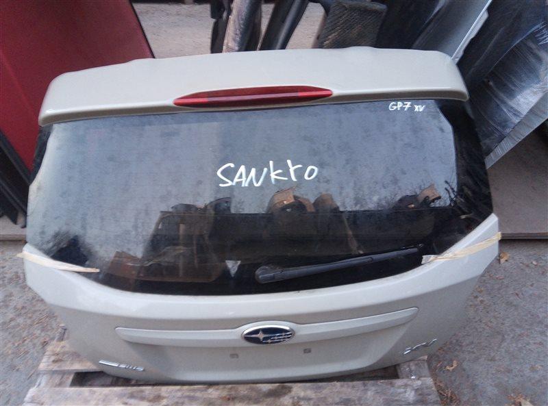 Дверь 5-я Subaru Xv GP7 FB20 08.2014 (б/у)