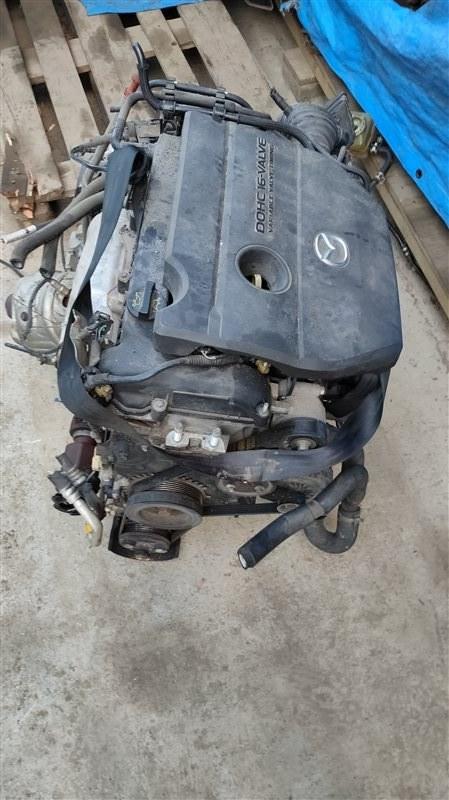 Двигатель Mazda Axela BKEP LF-VE 052777 (б/у)