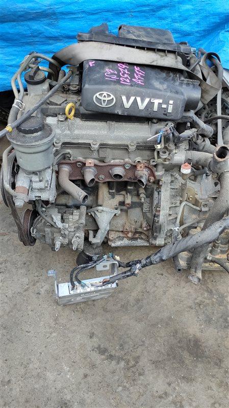 Двигатель Toyota Vitz SCP10 1SZ-FE 1257970 (б/у)