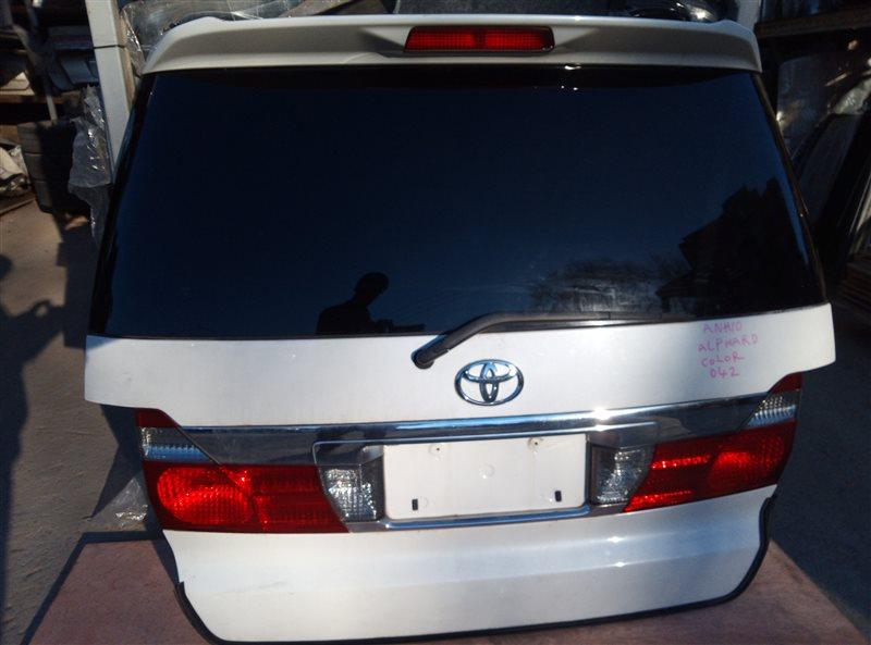 Дверь 5-я Toyota Alphard ANH10 (б/у)