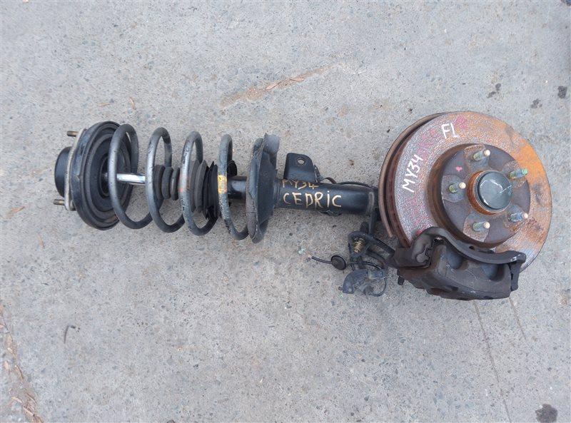 Ступица Nissan Cedric MY34 VQ25DD передняя левая (б/у)