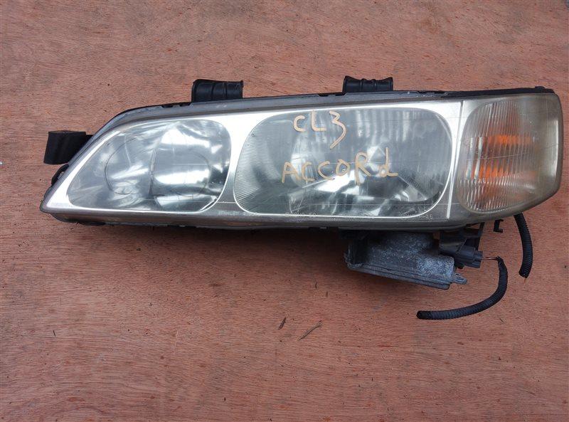 Фара Honda Accord CL3 передняя левая (б/у)