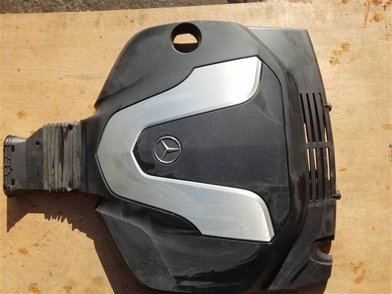 Декоративная крышка двс Mercedes Gle Coupe 350D C292 642.826 03.2016 (б/у)