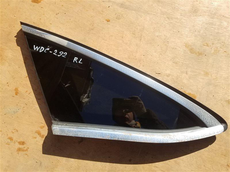 Стекло собачника Mercedes Gle Coupe 350D C292 642.826 03.2016 заднее левое (б/у)