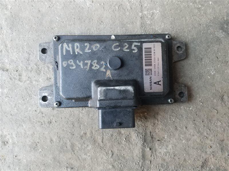 Блок переключения кпп Nissan Serena C25 MR20DE (б/у)