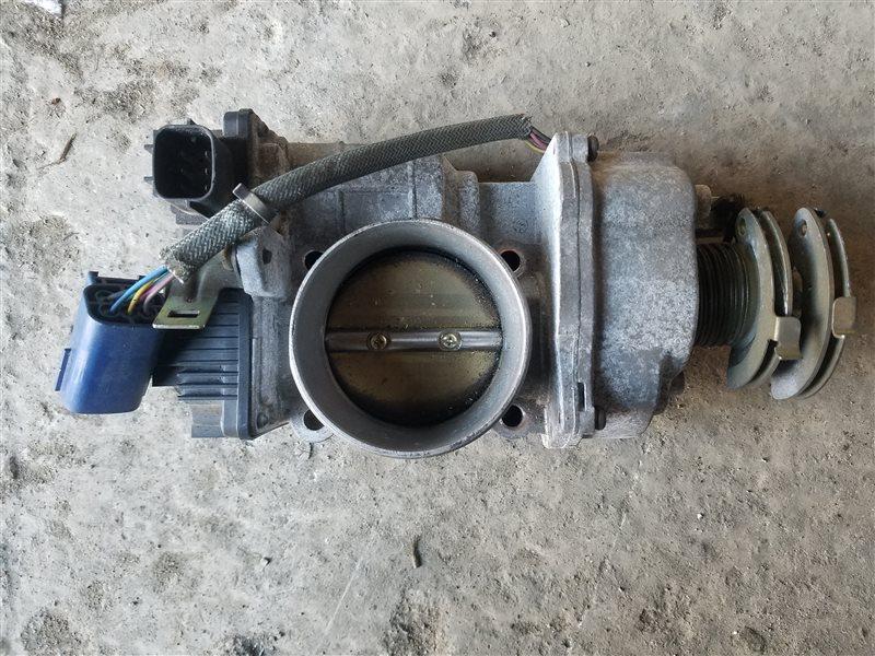 Блок дроссельной заслонки Nissan Cima GNF50 VK45DE (б/у)