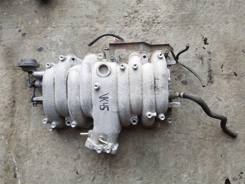 Коллектор впускной Nissan Cima GNF50 VK45DE верхний (б/у)