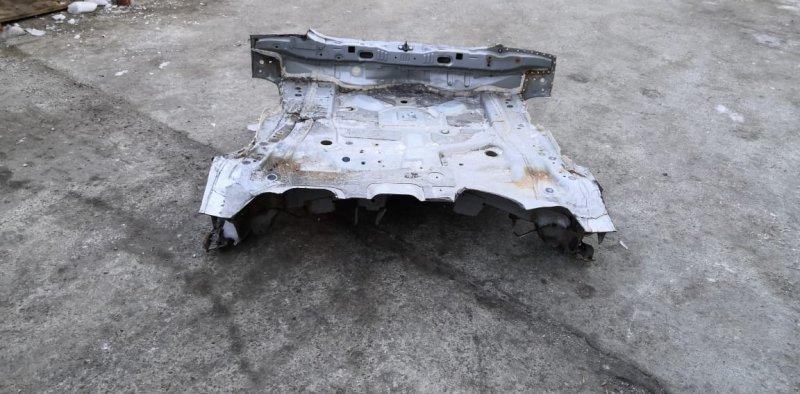 Тазик железный Toyota Vitz NSP135 1NR-FE (б/у)