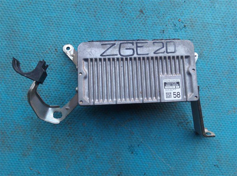 Блок efi Toyota Wish ZGE20 2ZR-FAE 06.2012 (б/у)