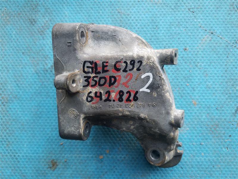 Кронштейн опоры двигателя Mercedes Gle Coupe 350D C292 642.826 03.2016 правый (б/у)