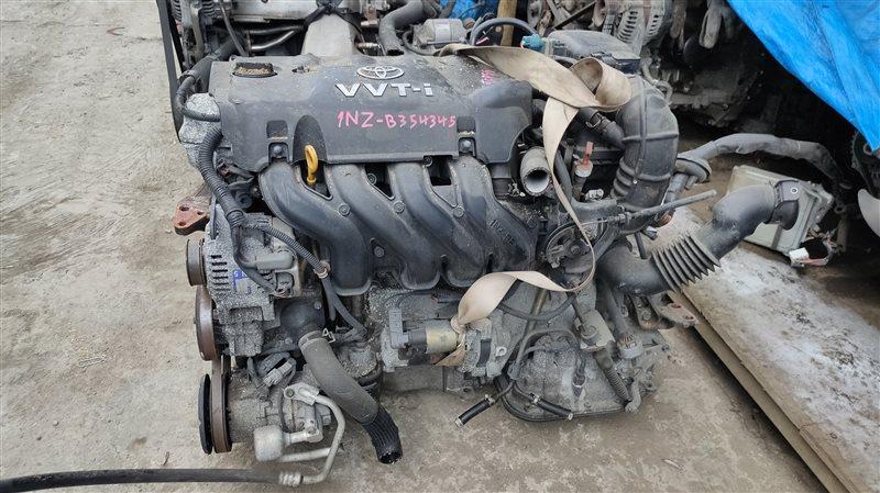 Двигатель Toyota Probox NCP55 1NZ-FE 13354345 (б/у)