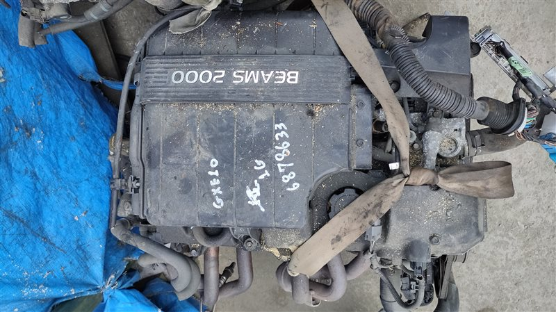 Двигатель Toyota Altezza GXE10 1G-FE 6878633 (б/у)
