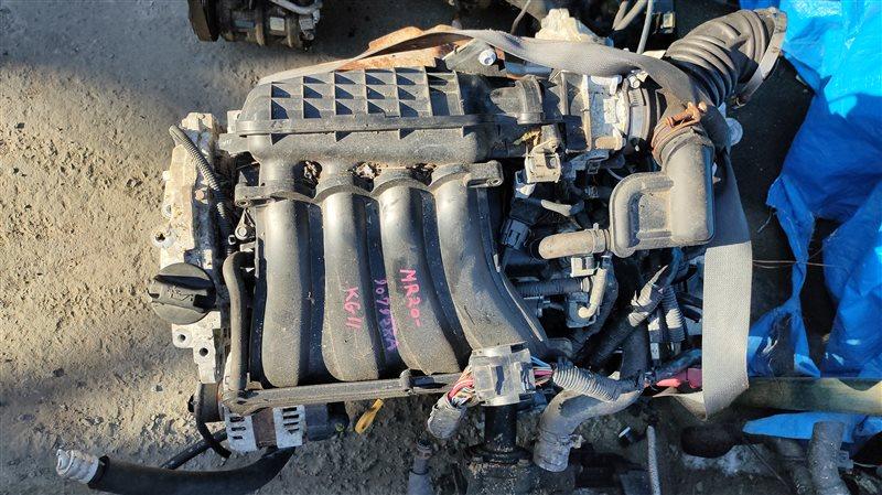 Двигатель Nissan Bluebird Sylphy KG11 MR20DE 907958A (б/у)