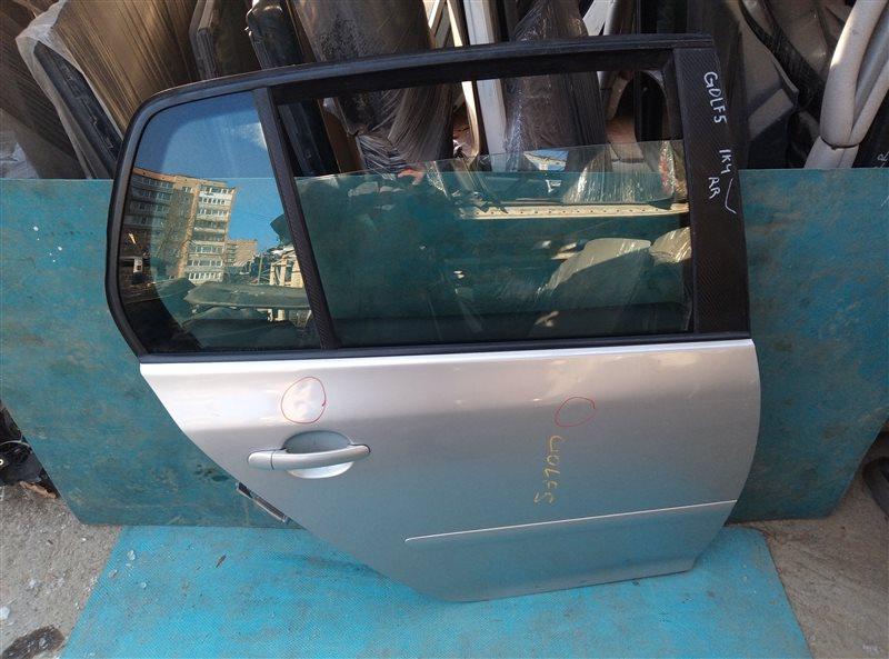 Дверь Volkswagen Golf 1K1 задняя правая (б/у)