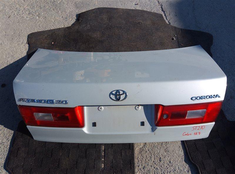 Крышка багажника Toyota Corona Premio ST210 (б/у)