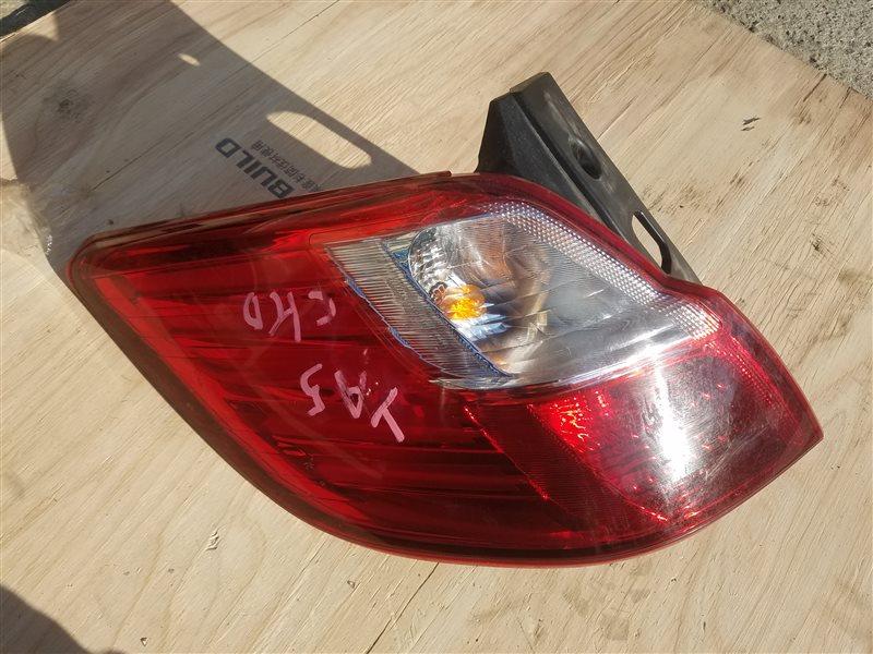Стоп-сигнал Subaru Exiga YA5 задний левый (б/у)