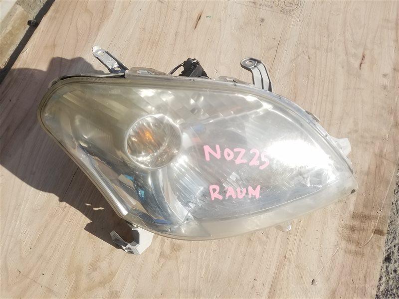 Фара Toyota Raum NCZ25 передняя правая (б/у)
