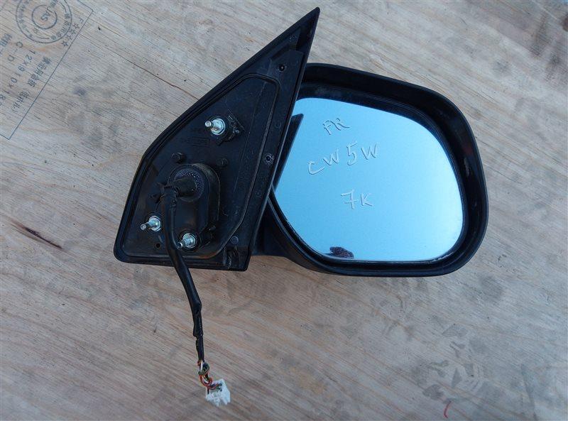 Зеркало Mitsubishi Outlander CW5W переднее правое (б/у)