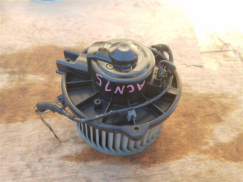 Мотор печки Toyota Nadia ACN15 (б/у)