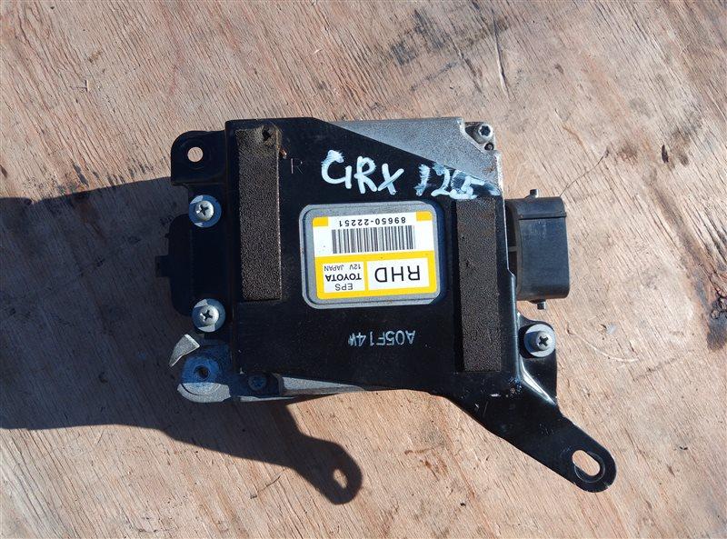 Блок управления рулевой рейкой Toyota Mark X GRX125 4GR-FSE (б/у)
