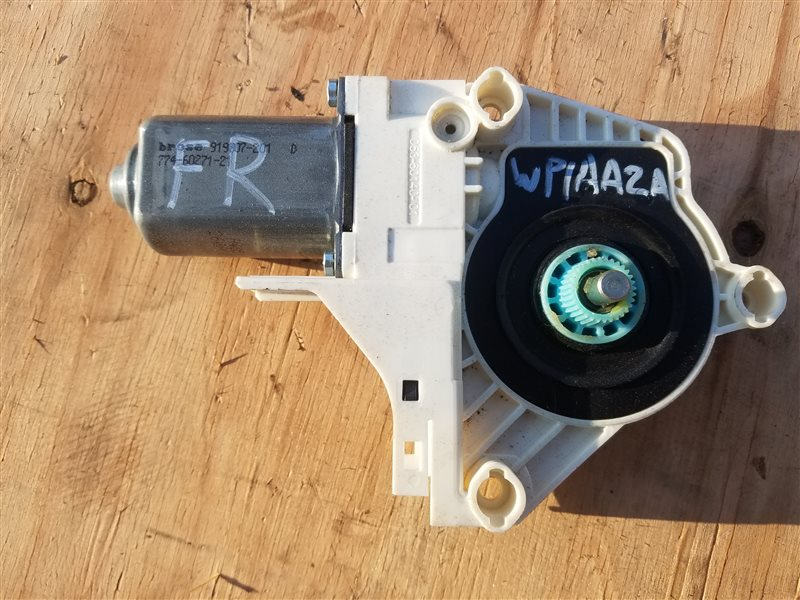 Мотор стеклоподъемника Porsche Cayenne 958 M55.02 2012 передний правый (б/у)