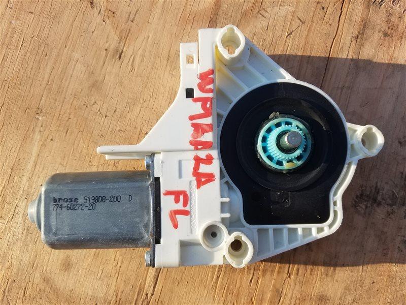 Мотор стеклоподъемника Porsche Cayenne 958 M55.02 2012 передний левый (б/у)