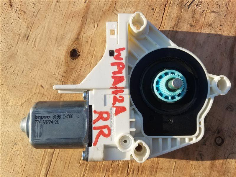 Мотор стеклоподъемника Porsche Cayenne 958 M55.02 2012 задний правый (б/у)