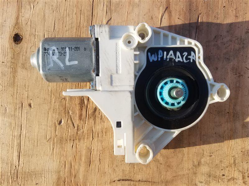 Мотор стеклоподъемника Porsche Cayenne 958 M55.02 2012 задний левый (б/у)