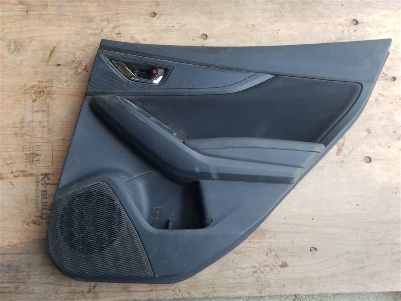 Обшивка дверей Subaru Xv GT задняя правая (б/у)