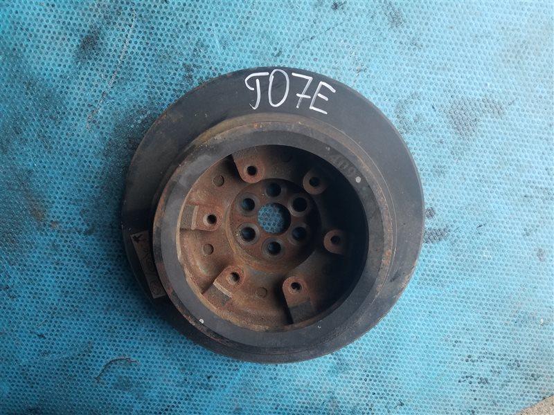 Шкив коленвала Nissan Diesel J07E (б/у)