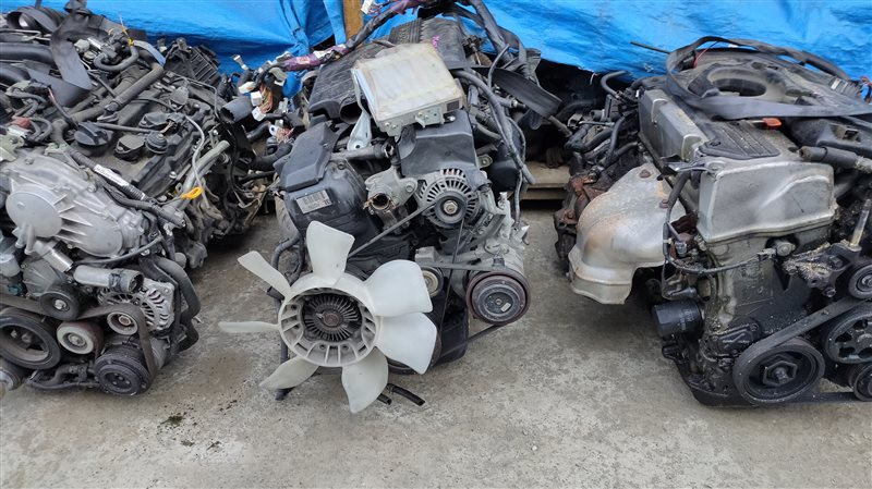 Двигатель Toyota Mark 2 GX100 1G-FE BEAMS 6724636 (б/у)