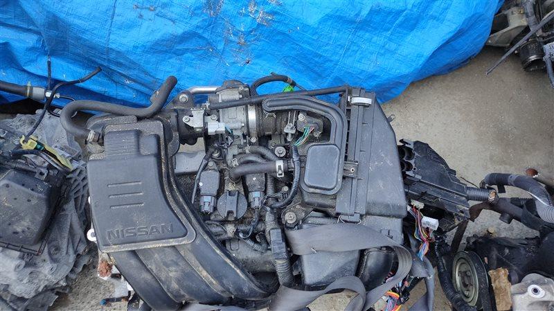 Двигатель Nissan March K13 HR12DE 439545A (б/у)