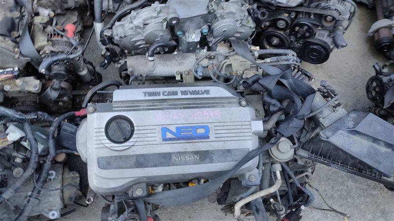 Двигатель Nissan Sunny FB15 QG15DE 302545 (б/у)