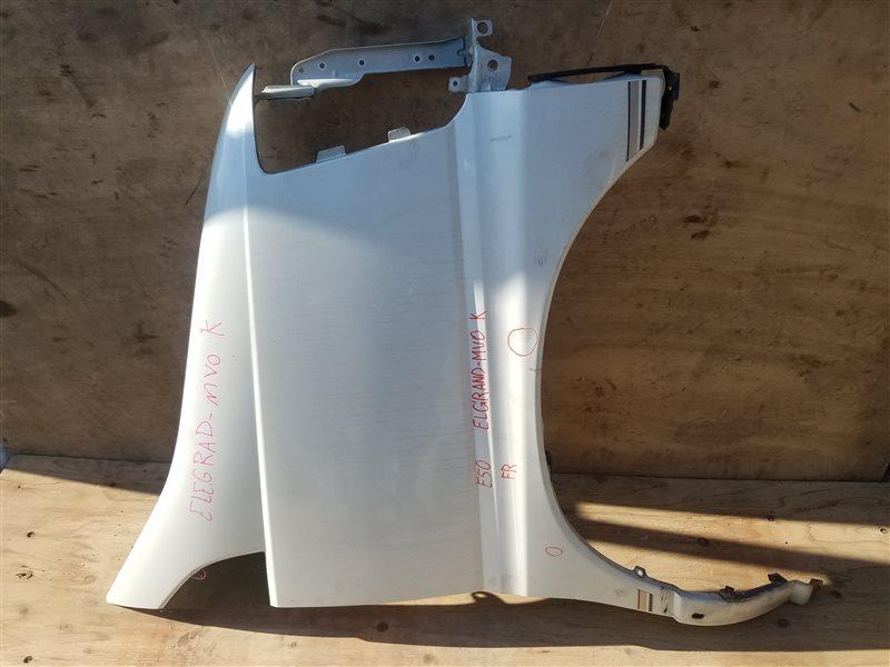 Крыло Nissan Elgrand ALE50 переднее правое (б/у)