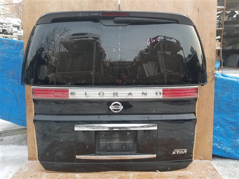 Дверь 5-я Nissan Elgrand E51 (б/у)