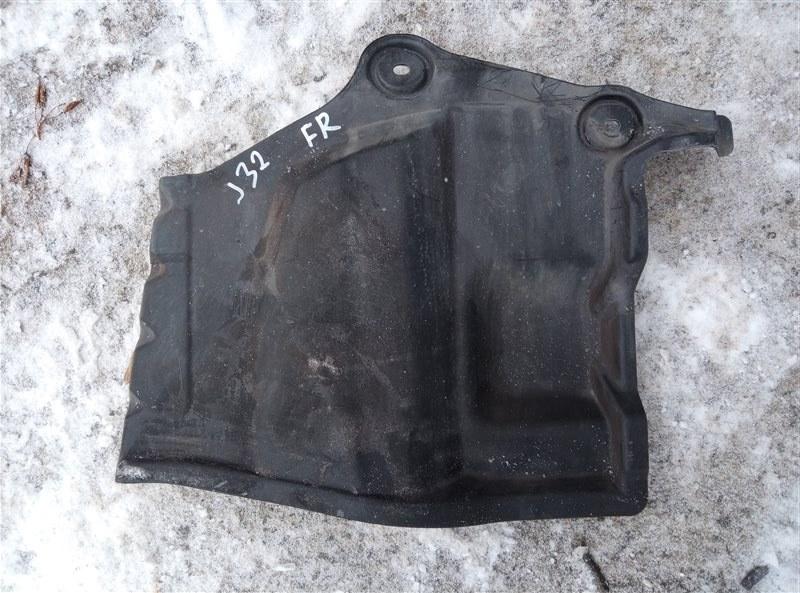 Защита двигателя Nissan Teana J32 VQ25DE правая (б/у)