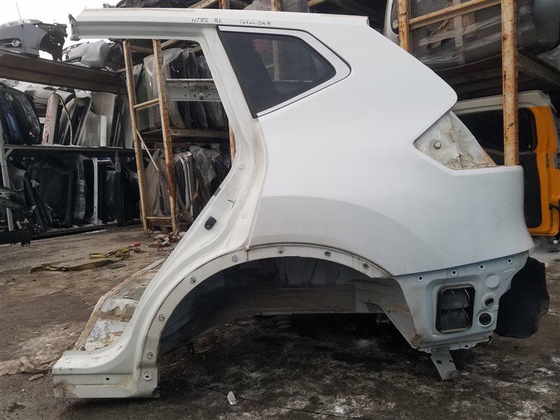 Крыло Nissan X-Trail HT32 MR20DD 11.2015 заднее левое (б/у)
