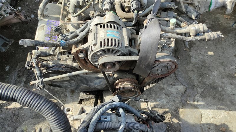 Двигатель Subaru Sambar TT2 EN07 222768 (б/у)