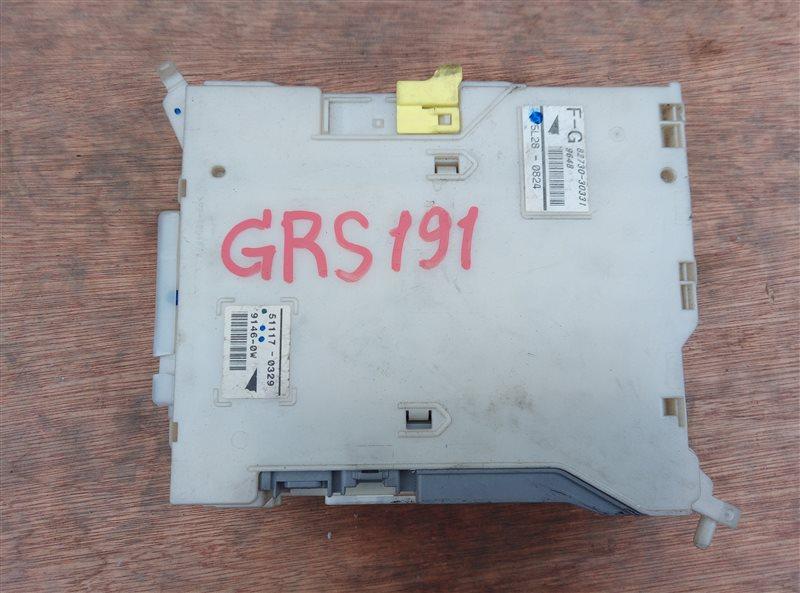 Блок предохранителей Lexus Gs350 GRS191 (б/у)