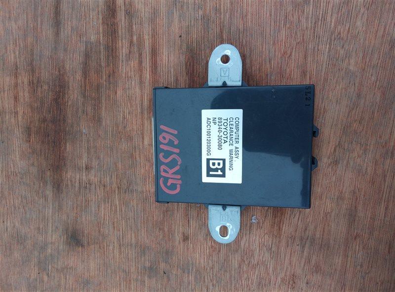 Электронный блок Lexus Gs350 GRS191 (б/у)