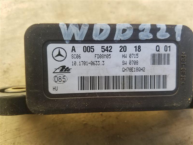 Датчик курсовой устойчивости Mercedes S 500 Long W221 273.961 01.2008 (б/у)
