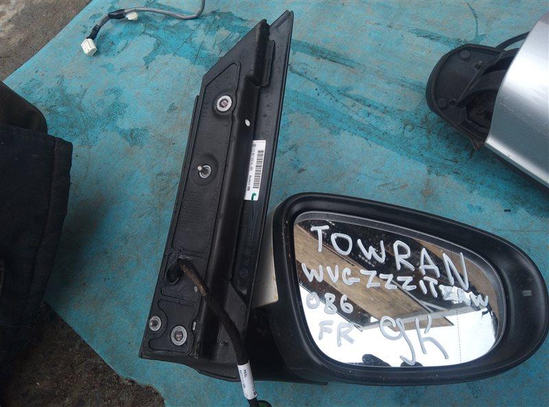 Зеркало Volkswagen Touran 1T2 переднее правое (б/у)